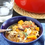 Chicken Stew with Butternut Squash & Quinoa Recipe