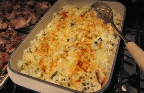 Creamy Poblano Rice