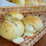 Homemade Cheesy Dinner Rolls