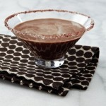 Homemade Chocolate Malted Martini