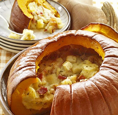 Pumpkin Stuffed with Everything Good – Passion for cooking