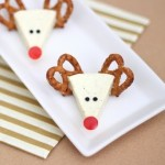 Christmas Appetizer Idea: Cheese Reindeers
