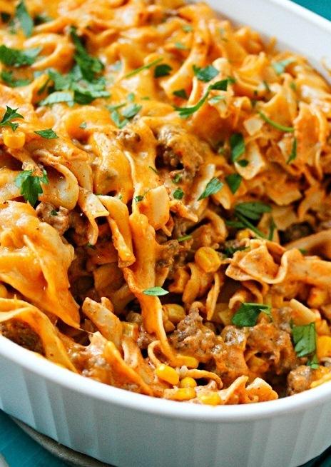 Enchilada Pasta Casserole Recipe