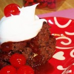 Slow Cooker Cherry Cola Chocolate Cake