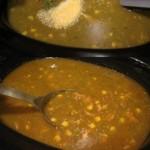 Turkey Tomatillo Pinto Bean Soup