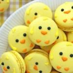 Easter Chick Macarooons
