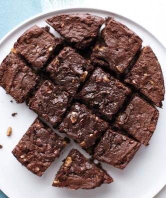 Slow-Cooker Triple Chocolate Brownies