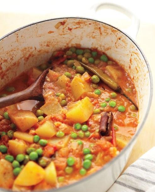 Pea and Potato Curry